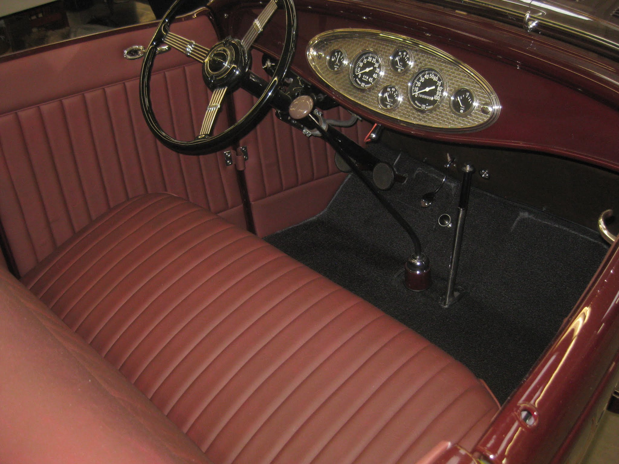1932 Ford Roadster Ls Portage Trim Professional Automotive Upholstery